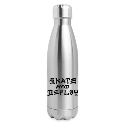 Skate and Deploy - Insulated Stainless Steel Water Bottle