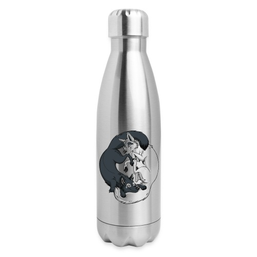 Yin Yang Foxes - Insulated Stainless Steel Water Bottle