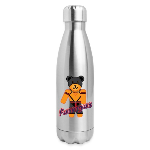 Leather Furrrgus - Insulated Stainless Steel Water Bottle
