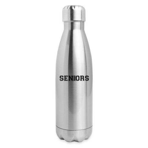 Seniors 2021design logo - Insulated Stainless Steel Water Bottle