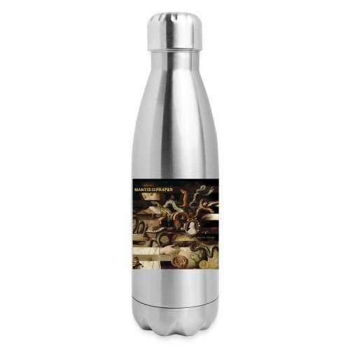 Mantis and the Prayer- Butterflies and Demons - Insulated Stainless Steel Water Bottle