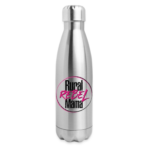 Rural Rebel Mama Logo - Insulated Stainless Steel Water Bottle
