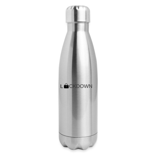 Lock Down - Insulated Stainless Steel Water Bottle