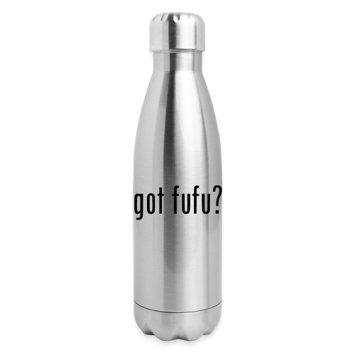 gotfufu-black - Insulated Stainless Steel Water Bottle