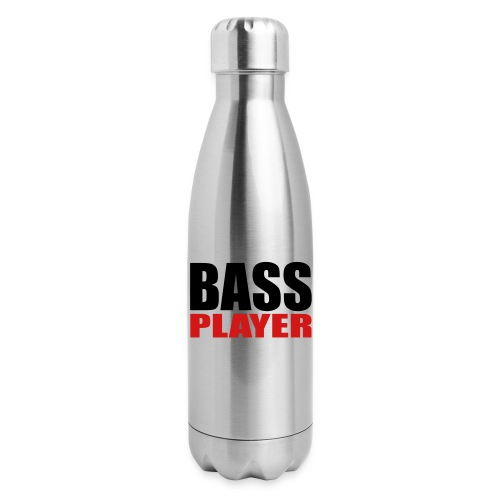 Bass Player - Insulated Stainless Steel Water Bottle