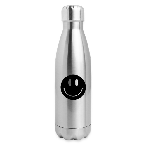 Smiley - Insulated Stainless Steel Water Bottle