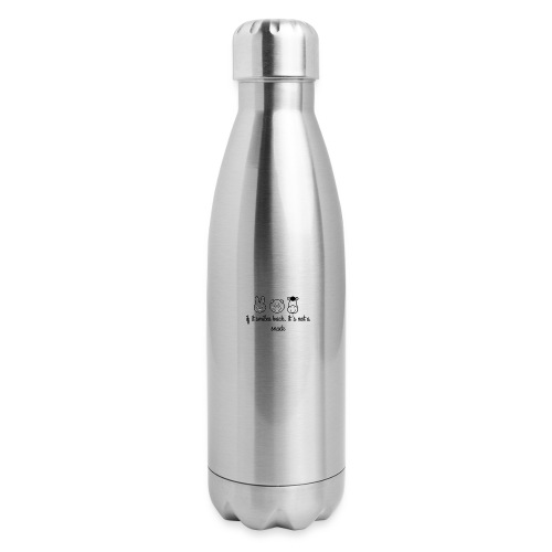 SMILE BACK - Insulated Stainless Steel Water Bottle
