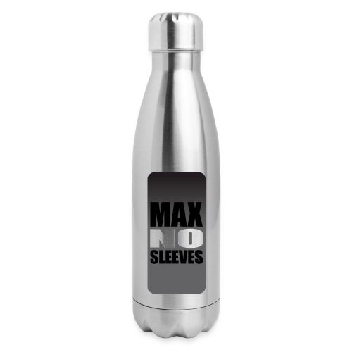 nosleevesgrayiphone5 - Insulated Stainless Steel Water Bottle