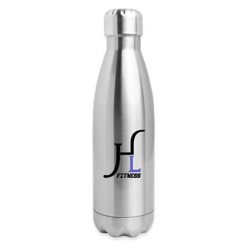 HIIT Life Fitness Logo Purple - Insulated Stainless Steel Water Bottle