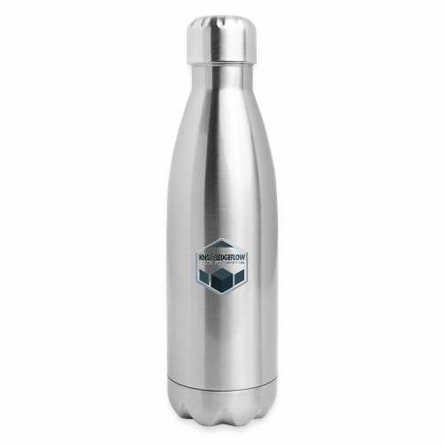 KnowledgeFlow Cybersafety Champion - Insulated Stainless Steel Water Bottle