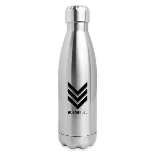 bulgebull_badge - Insulated Stainless Steel Water Bottle