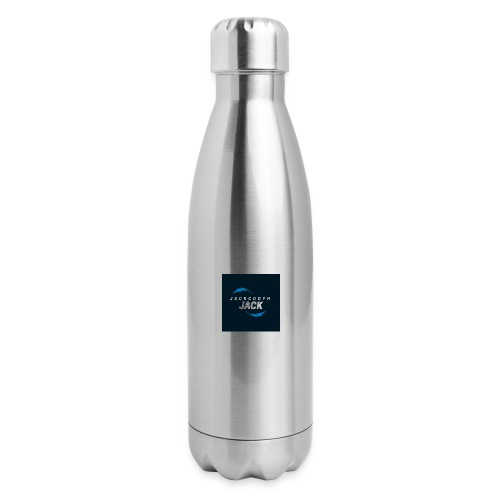 JackCodyH blue lightning bolt - Insulated Stainless Steel Water Bottle