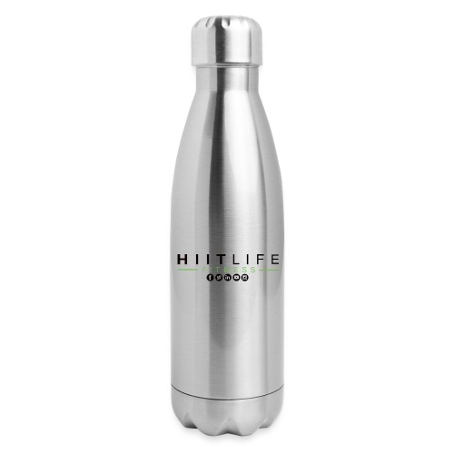 HLFLogosocial - Insulated Stainless Steel Water Bottle