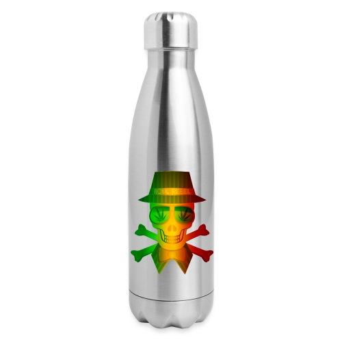 Rasta Man Rebel - Insulated Stainless Steel Water Bottle