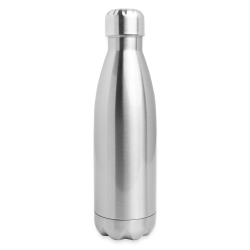 DMI Logo White - Insulated Stainless Steel Water Bottle