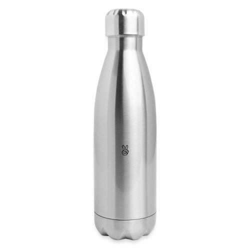 Peace J - Insulated Stainless Steel Water Bottle