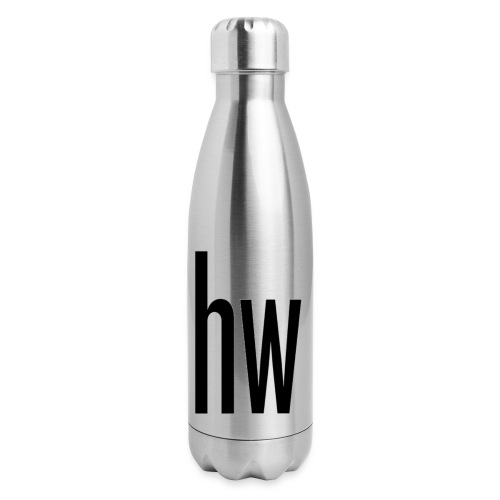 hw logo (Organic) - Insulated Stainless Steel Water Bottle
