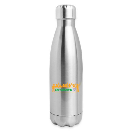 in crowd orange - Insulated Stainless Steel Water Bottle