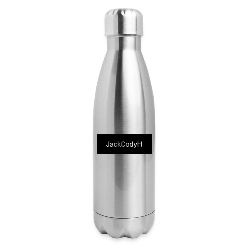 JackCodyH black design - Insulated Stainless Steel Water Bottle