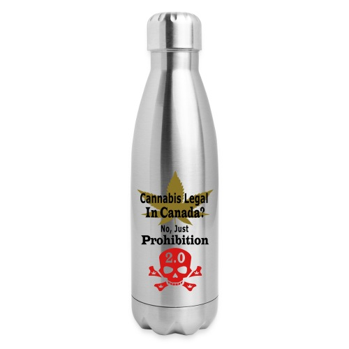 prohibition - Insulated Stainless Steel Water Bottle