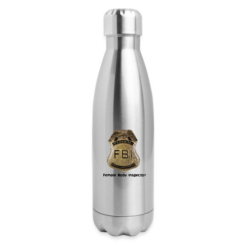 FBI Acronym - Insulated Stainless Steel Water Bottle