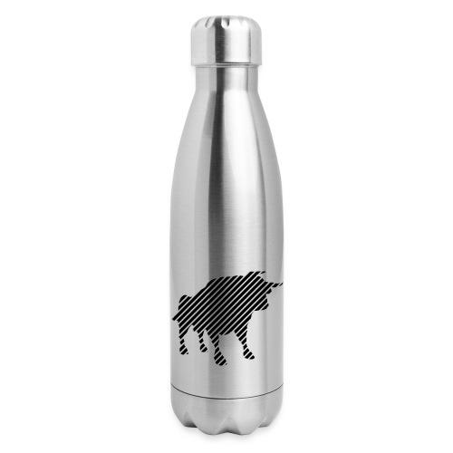 bulgebull_animal - Insulated Stainless Steel Water Bottle