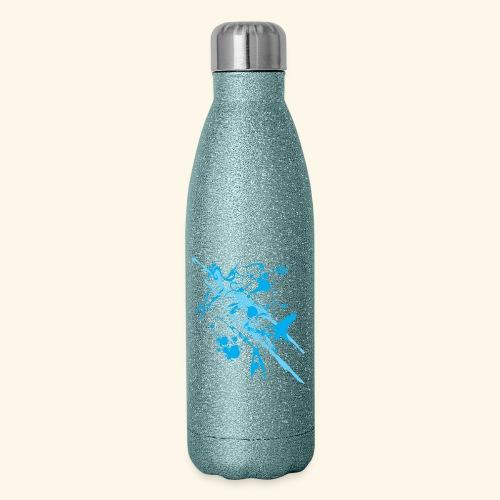 Blue Splash - Insulated Stainless Steel Water Bottle