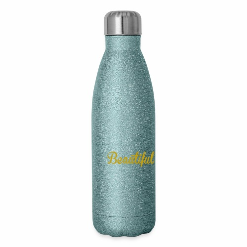 Black & Beautiful Long Sleeve Shirt - Insulated Stainless Steel Water Bottle