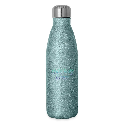 Newel Black Painted tp Nate- - Insulated Stainless Steel Water Bottle