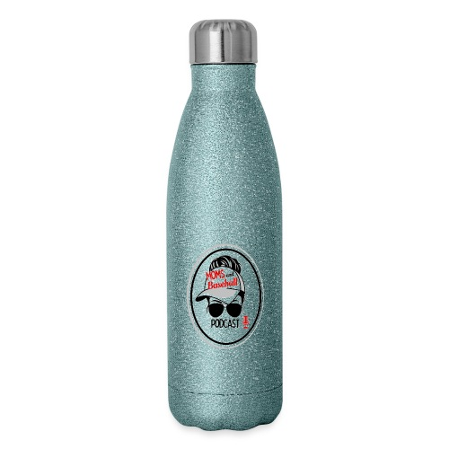 Moms and Baseball - Insulated Stainless Steel Water Bottle