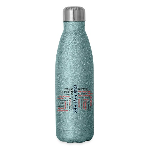 Names of God - Insulated Stainless Steel Water Bottle