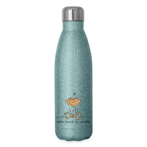 Inner Peace is Loading - Insulated Stainless Steel Water Bottle