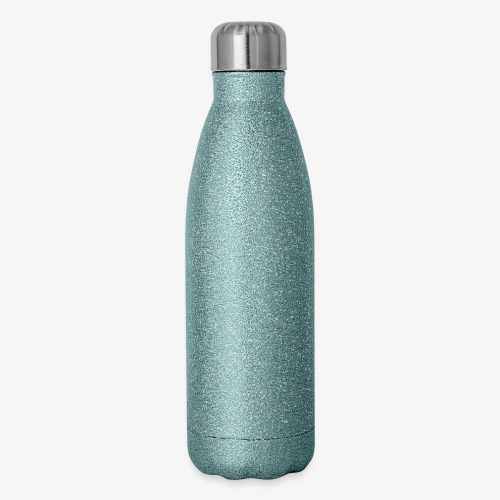 Black Live Matter Chaotic Typography - Insulated Stainless Steel Water Bottle