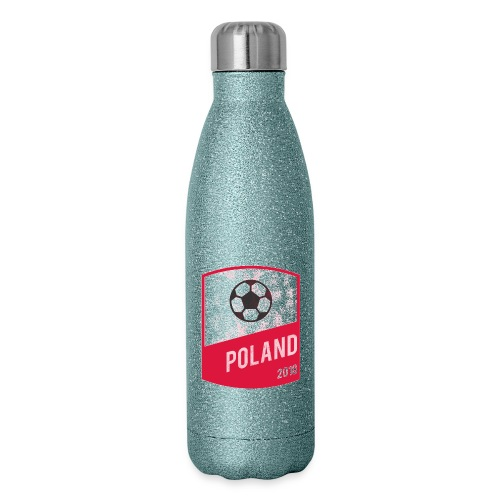 Poland Team - World Cup - Russia 2018 - Insulated Stainless Steel Water Bottle