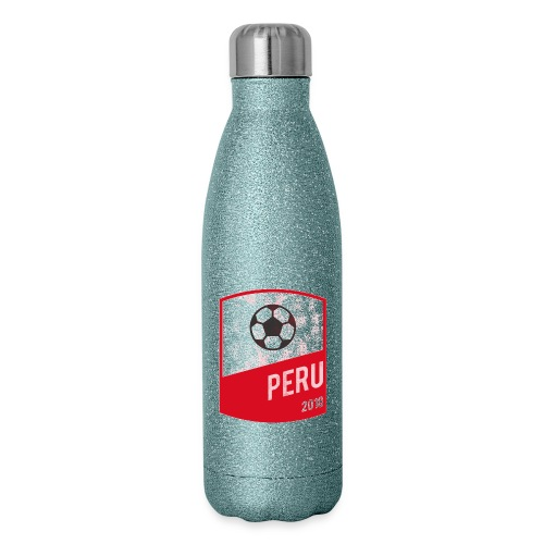 BadgePeru - Insulated Stainless Steel Water Bottle