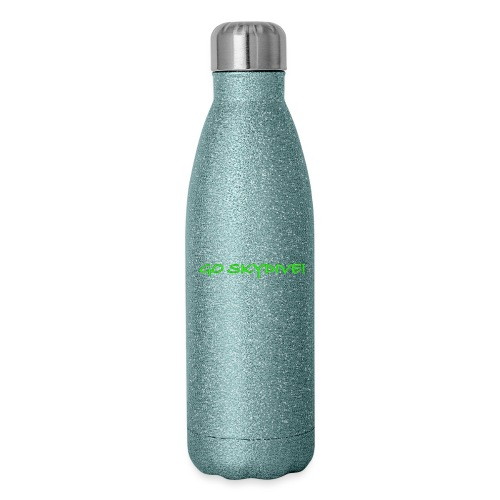 Go Skydive T-shirt/Book Skydive - Insulated Stainless Steel Water Bottle
