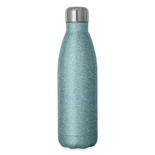 Work hard pray harder inspirational t-shirt - Insulated Stainless Steel Water Bottle
