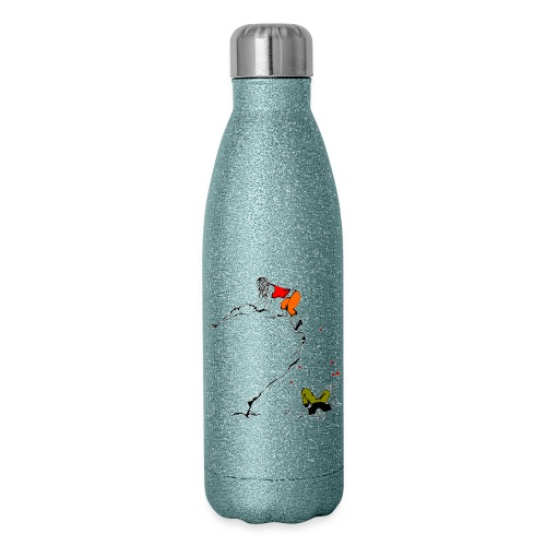 Lady Climber - Insulated Stainless Steel Water Bottle
