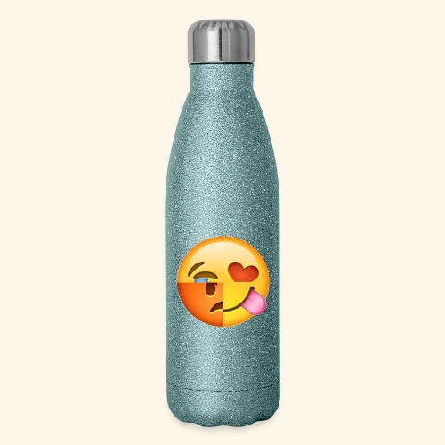 E Tees , Unique , Love , Cry, angry - Insulated Stainless Steel Water Bottle