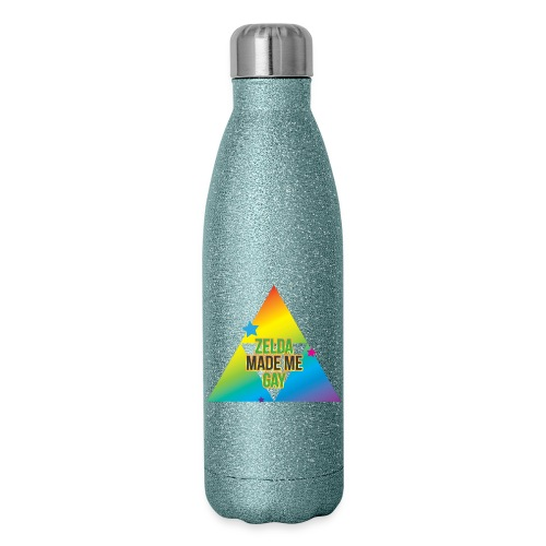 Zelda Made Me Gay - Insulated Stainless Steel Water Bottle