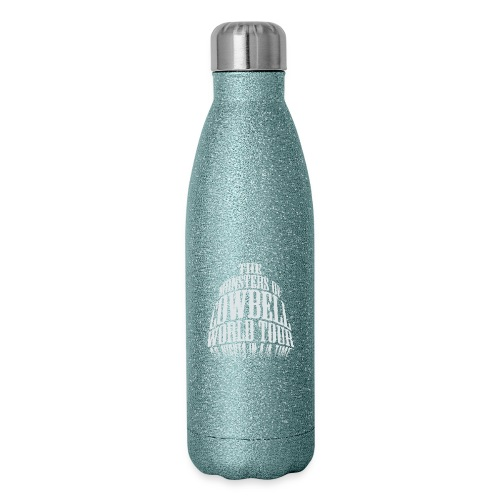 monstersofcowbellfront - Insulated Stainless Steel Water Bottle