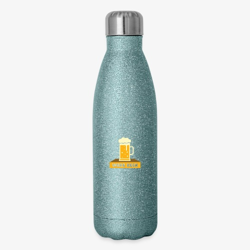 wish you were beer - Insulated Stainless Steel Water Bottle