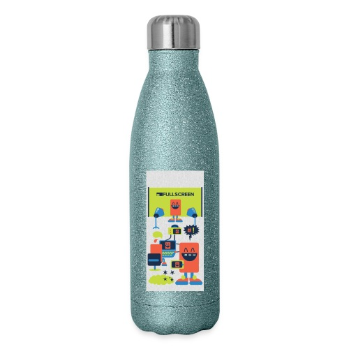 iphone5screenbots - Insulated Stainless Steel Water Bottle