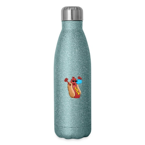 Hot dog clean mask - Insulated Stainless Steel Water Bottle