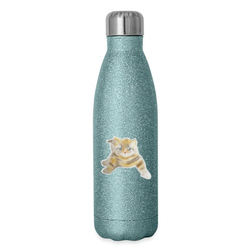 sad boy - Insulated Stainless Steel Water Bottle