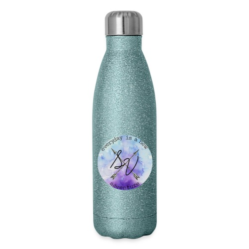 everyday is a new adventure logo - Insulated Stainless Steel Water Bottle