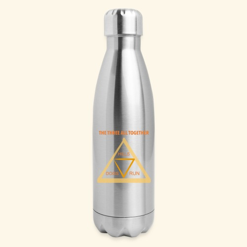 Run4Dogs Triangle - Insulated Stainless Steel Water Bottle