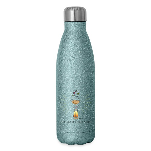 Let your light shine - Insulated Stainless Steel Water Bottle