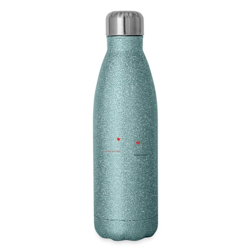 FlyGirlTextWhite W Black png - Insulated Stainless Steel Water Bottle