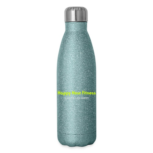 HHF_logotypeandtag - Insulated Stainless Steel Water Bottle